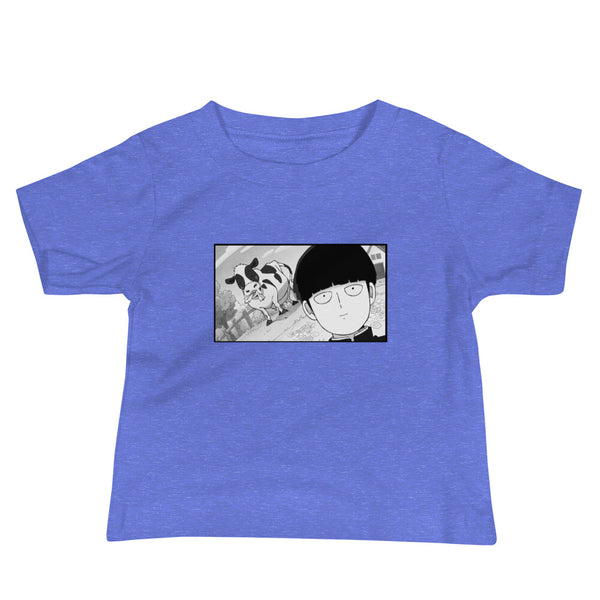 Mob Loves Milk Mob Psycho 100 Baby Jersey Short Sleeve Tee - Geeks Pride