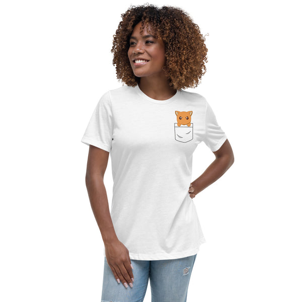 Kyo In Pocket Women's Relaxed T-Shirt - Geeks Pride