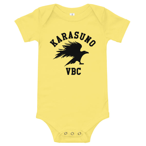 Karasuno High Volleyball Club VBC Haikyuu Baby Jersey One Piece Onesie - Geeks Pride