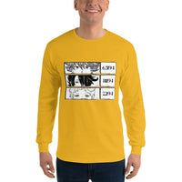 Ray, Emma, Norman The Promised Neverland Men's Long Sleeve Shirt - Geeks Pride