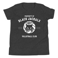 Property Of MSBY Black Jackals Youth Short Sleeve T-Shirt - Geeks Pride