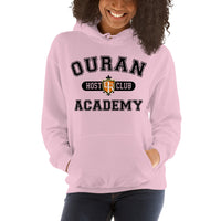 Ouran High School Host Club Black Ink Unisex Pullover Hoodie - Geeks Pride