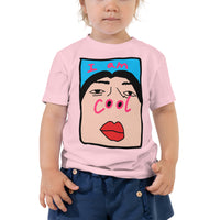 I am cool nose Toddler Short Sleeve Tee - Geeks Pride