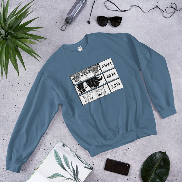 Ray, Emma, Norman The Promised Neverland Unisex Sweatshirt - Geeks Pride