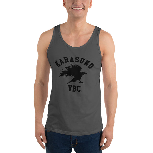 Karasuno High Volleyball Club VBC Haikyuu Unisex Tank Top - Geeks Pride