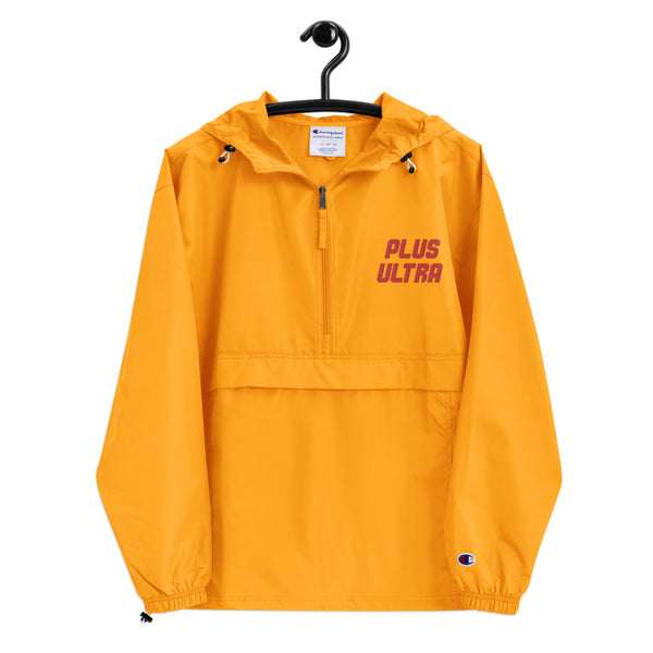 Plus Ultra Boku no Hero Academia Embroidered Champion Packable Jacket - Geeks Pride