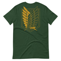 Survey Corps Attack on Titan Y Short-Sleeve Unisex T-Shirt - Geeks Pride
