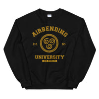 Airbending University Yellow Ink Unisex Sweatshirt - Geeks Pride