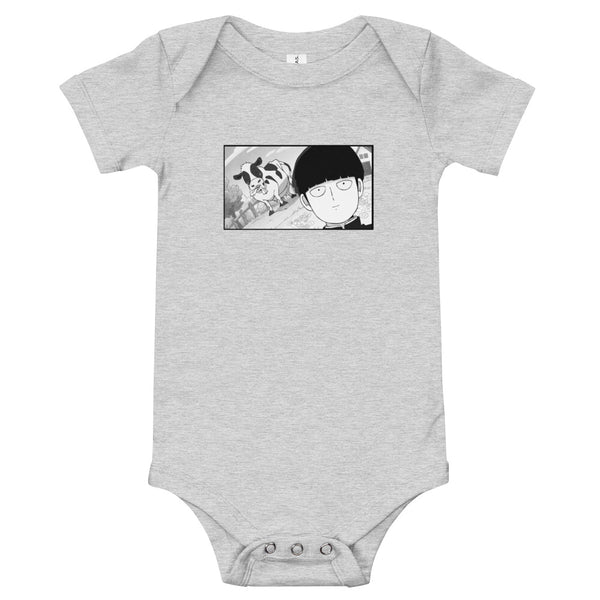 Mob Loves Milk Mob Psycho 100 Baby Jersey One Piece Onesie - Geeks Pride