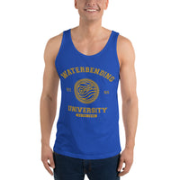 Waterbending University Yellow Ink Unisex Tank Top - Geeks Pride