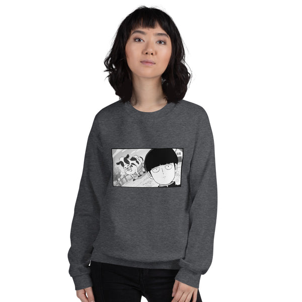 Mob Loves Milk Mob Psycho 100 Unisex Sweatshirt - Geeks Pride