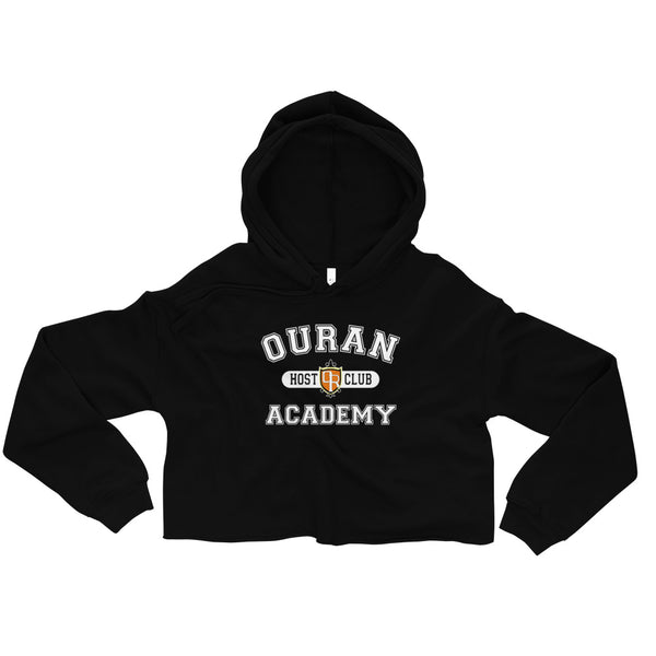 Ouran High School Host Club White Ink Crop Hoodie - Geeks Pride