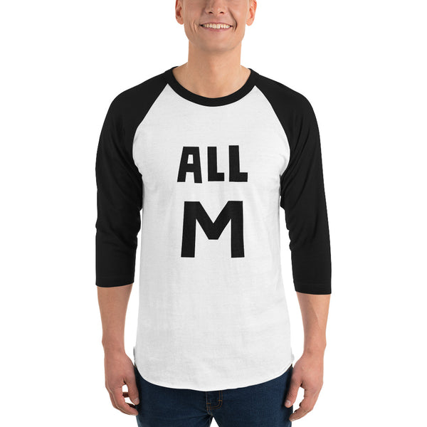 All M All Might 3/4 sleeve raglan shirt - Geeks Pride