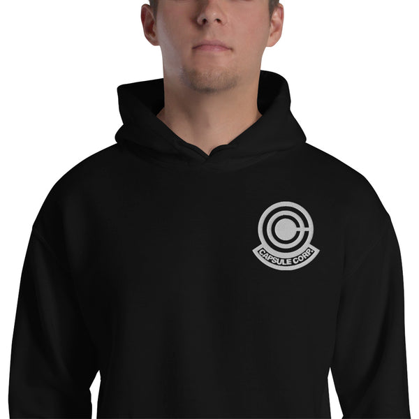 Capsule Corporation Embroidered Unisex Pullover Hoodie - Geeks Pride