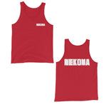 Nekoma F and B Unisex Tank Top