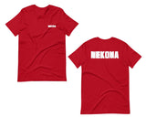 Nekoma F and B Short-Sleeve Unisex T-Shirt