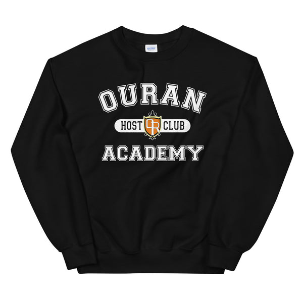 Ouran High School Host Club White Ink Unisex Sweatshirt - Geeks Pride