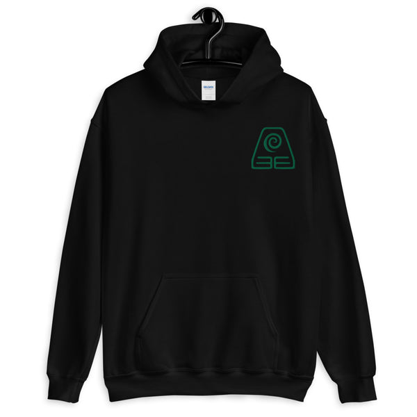 Earthbender Embroidered Unisex Hoodie