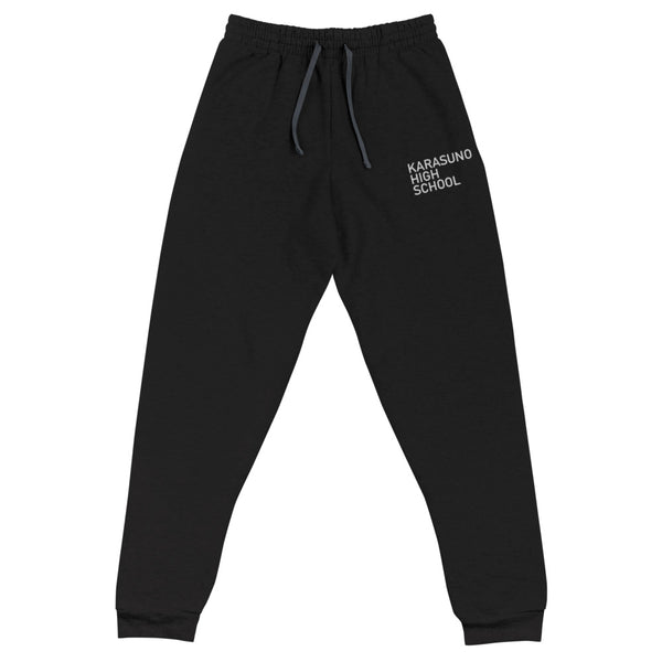 Karasuno High School Embroidery Unisex Joggers