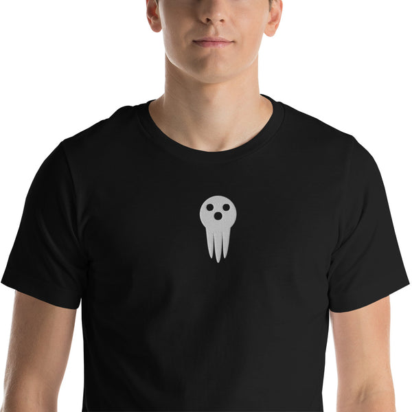 Death The Kid Embroidered Short-Sleeve Unisex T-Shirt