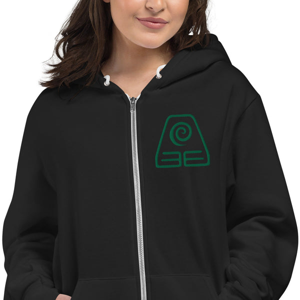 Earthbender Embroidered Hoodie sweater