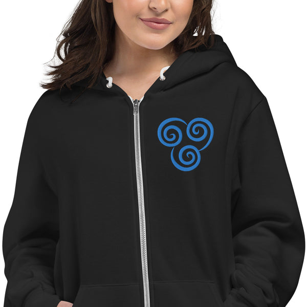 Airbender Embroidered Hoodie sweater