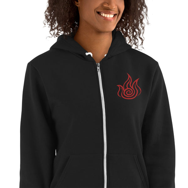 Firebender Embroidered Hoodie sweater