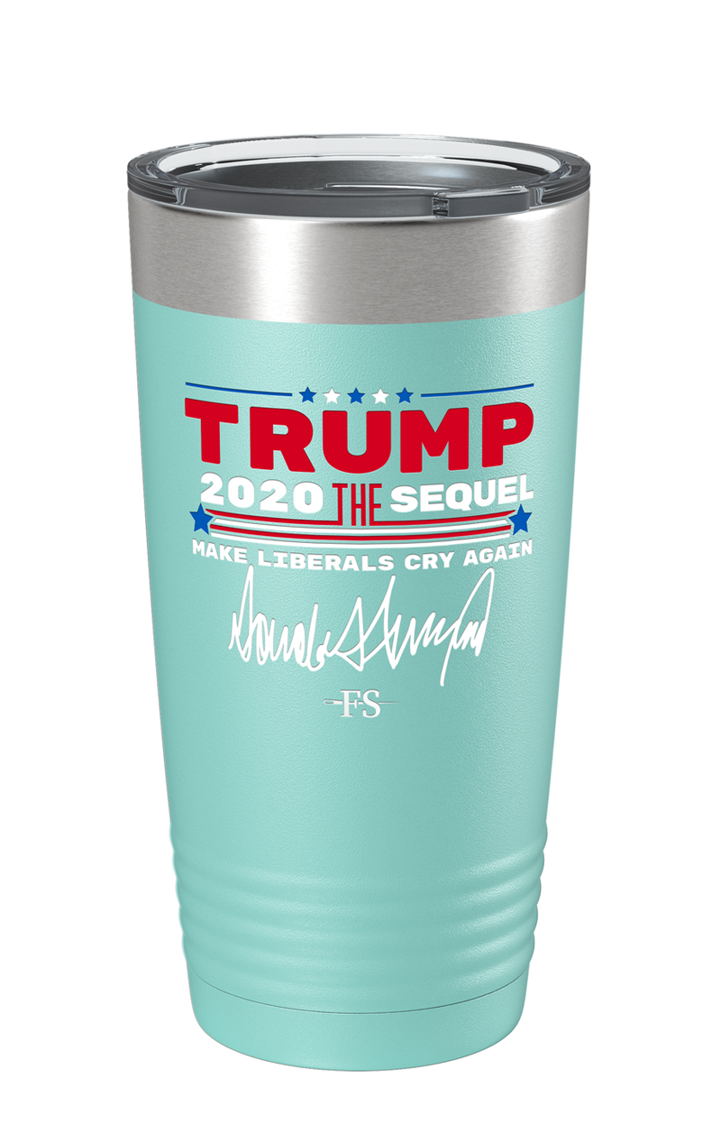 The Trump 2020 The Sequel Signature Color Printed Tumbler