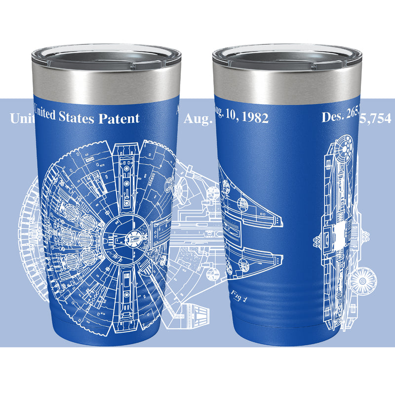 The Golden Age Falcon Patent 360 Color Printed Tumbler