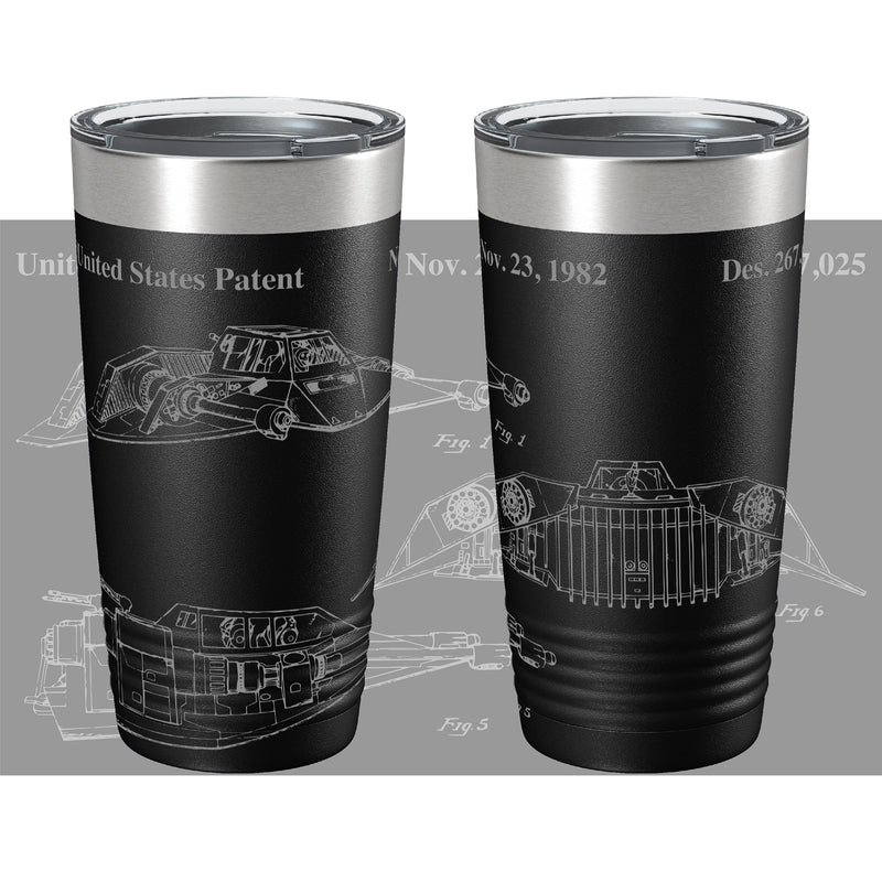 The Snow Storm Patent 360 Color Printed Tumbler
