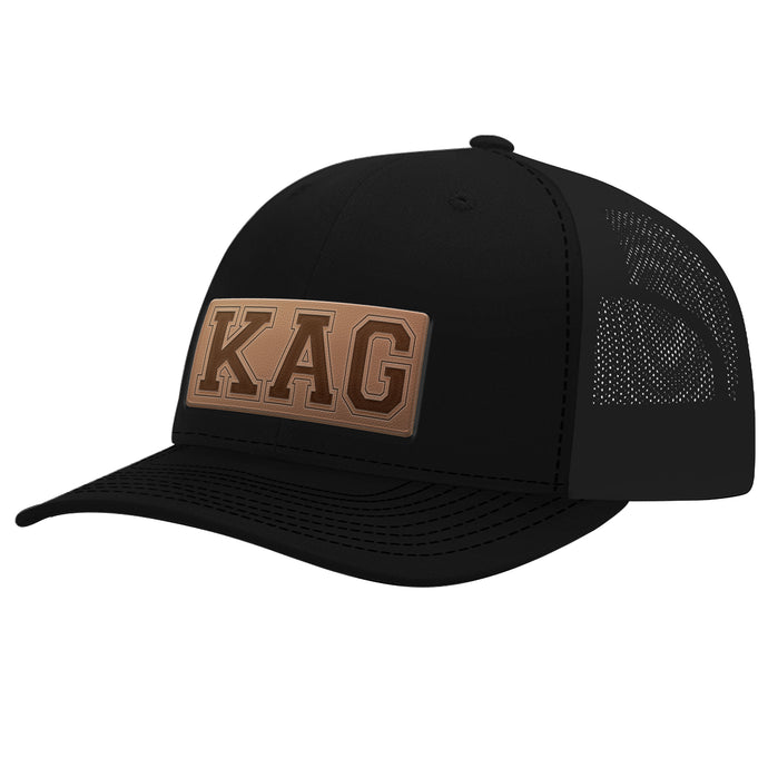 Leather Patch KAG Hat