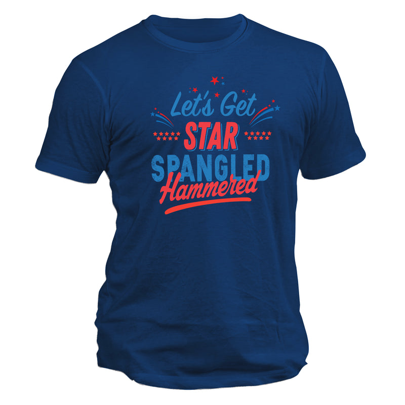 Let's get Star, Spangled, Hammered3 Tee