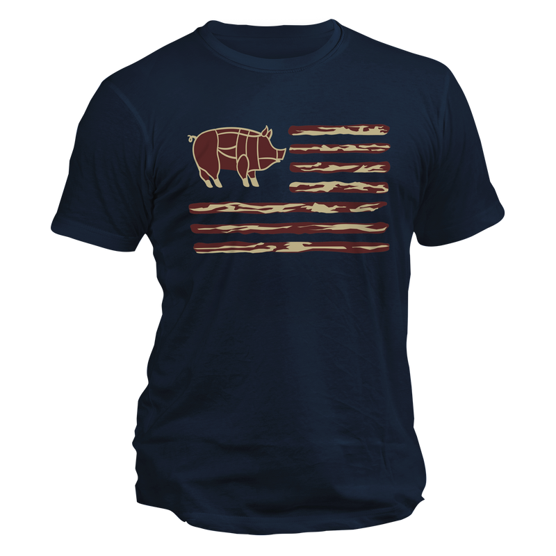 Bacon Flag Tee