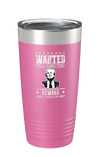 Trump Wanted For A Second Term Reward Making Liberals Cry Again Color Printed Tumbler