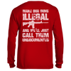 Make Our Guns Illegal (Back) Long Sleeve Tee