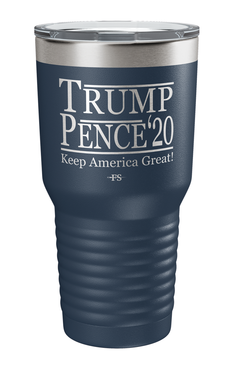 TRUMP/PENCE 20 Keep America Great Laser Etched Tumbler