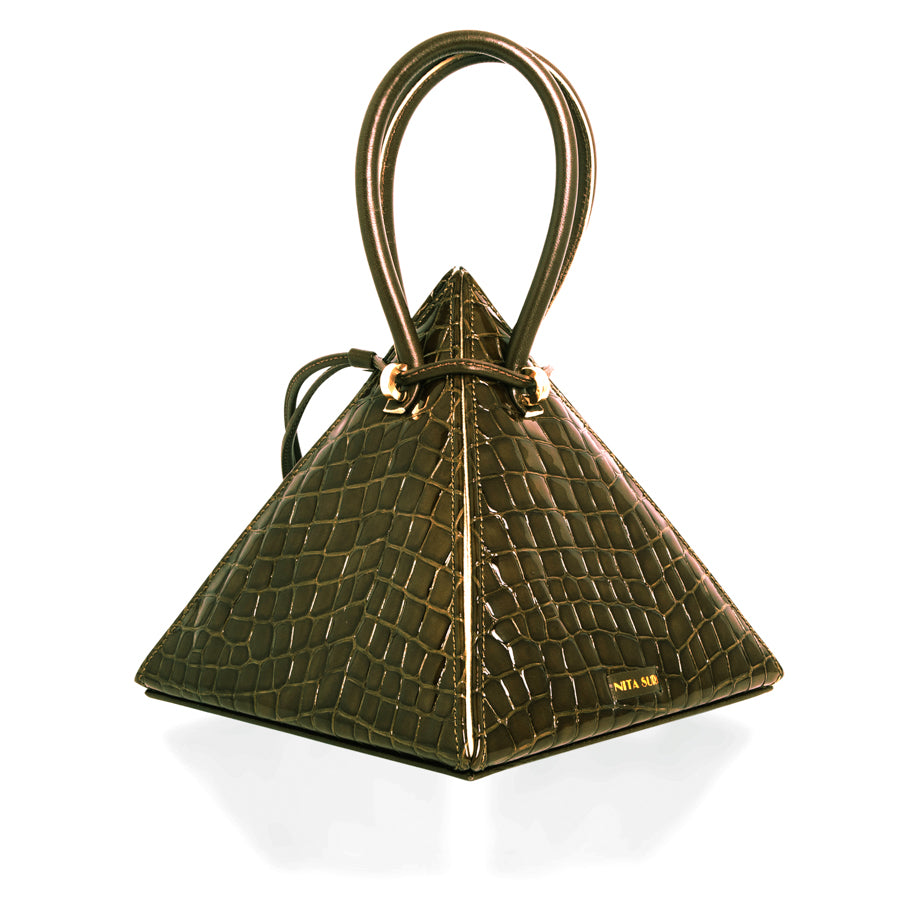 LIA Croc Collection Handbag