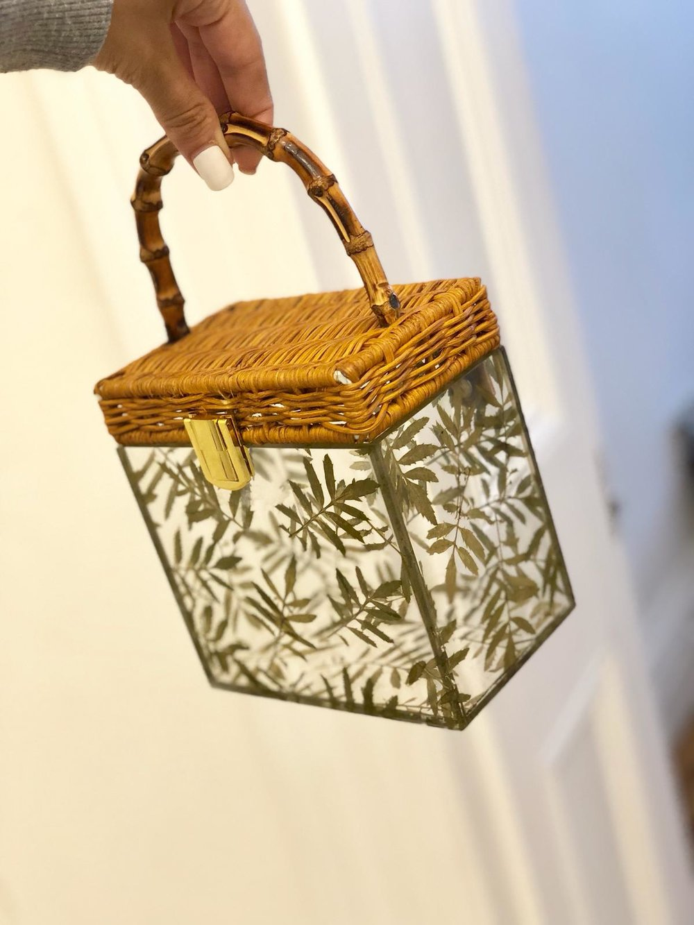 Bamboo Leaves Bag