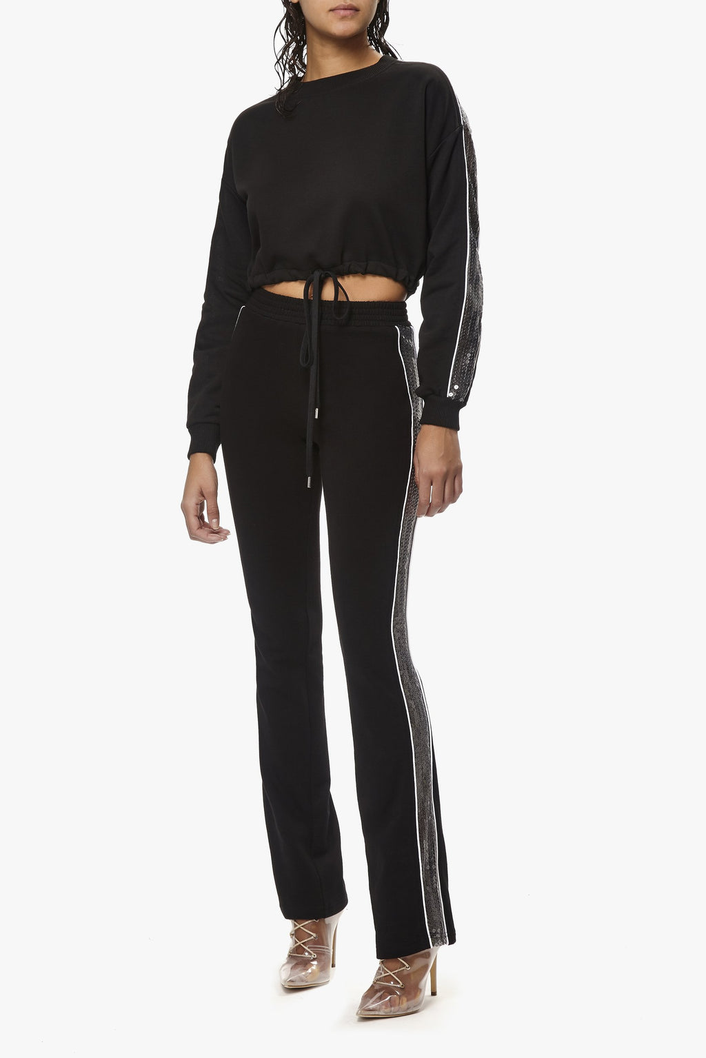 Contour Sequin Trackpants