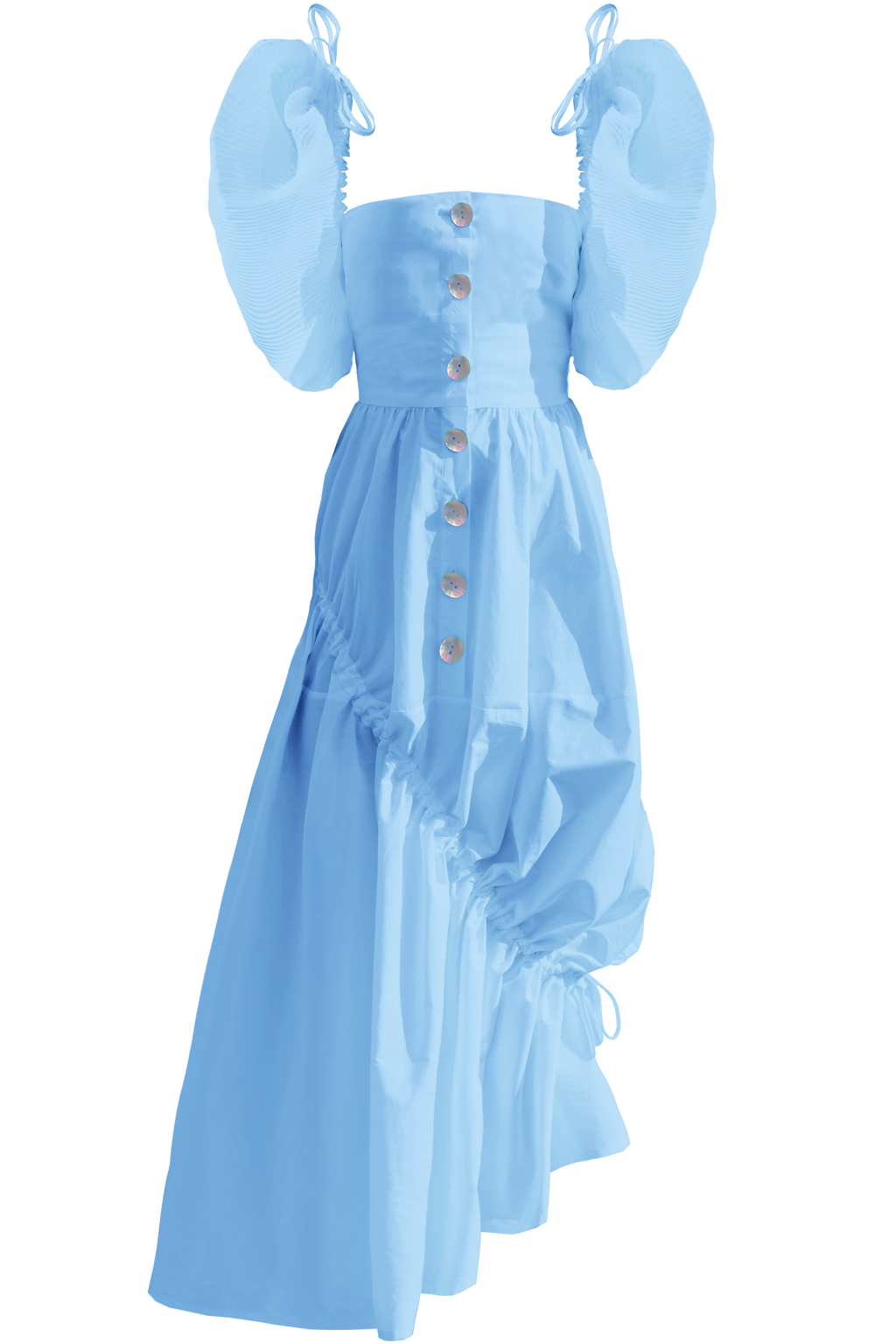 Elena Dress, Powder Blue