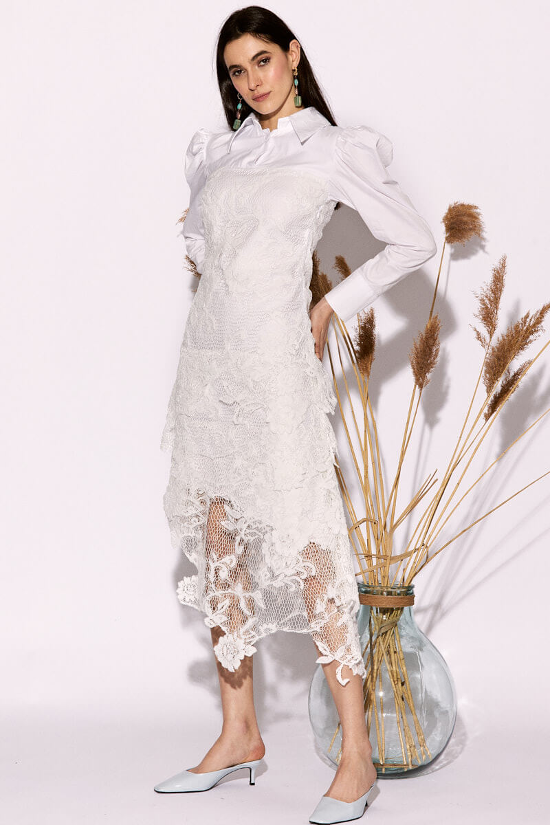 Lamena White Dress