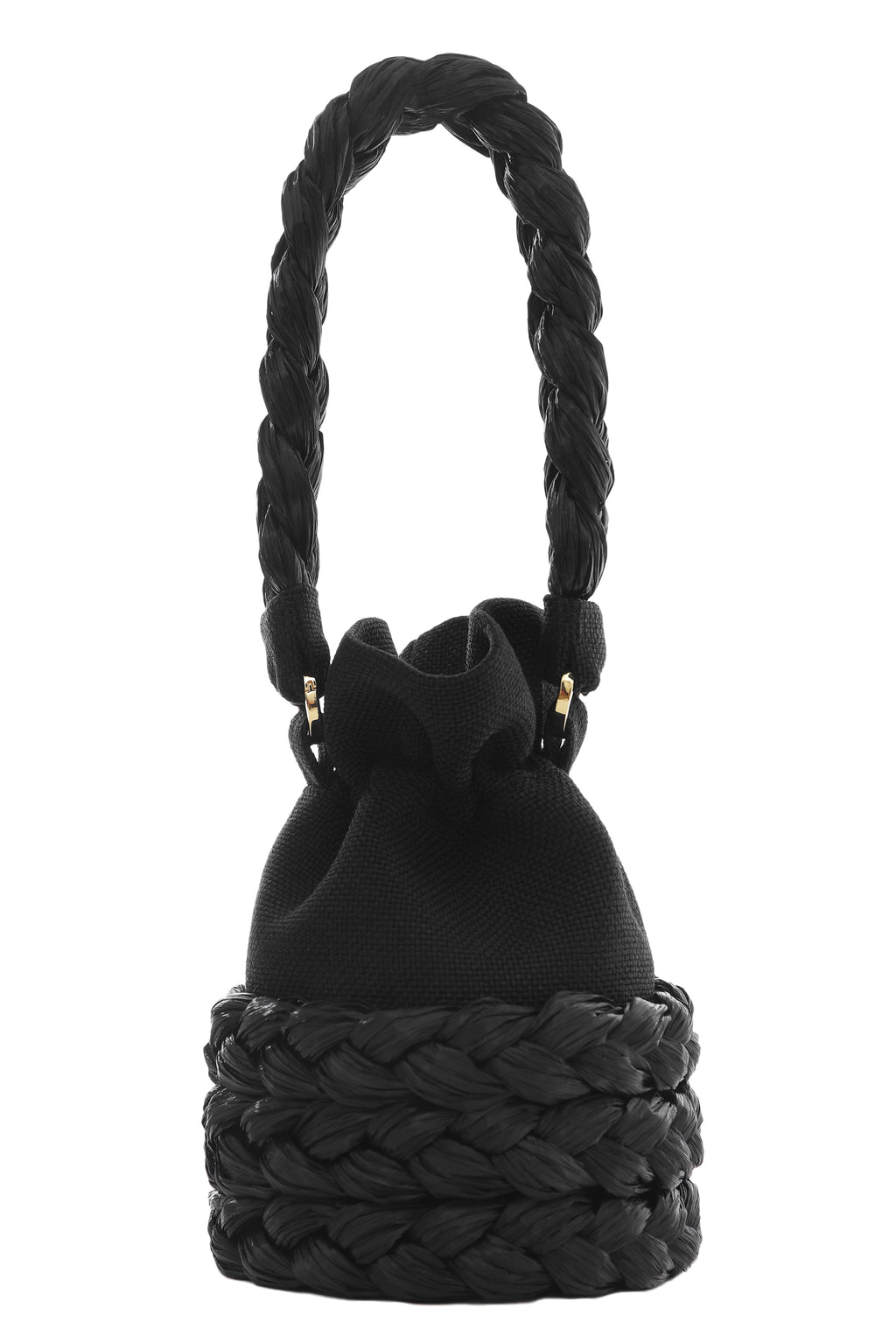 Black Medium Freja Bucket Bag