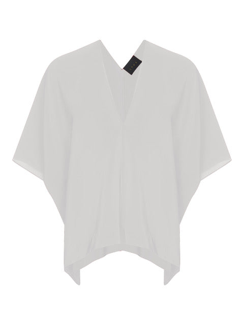 Off-White Silk Kaftan T-shirt