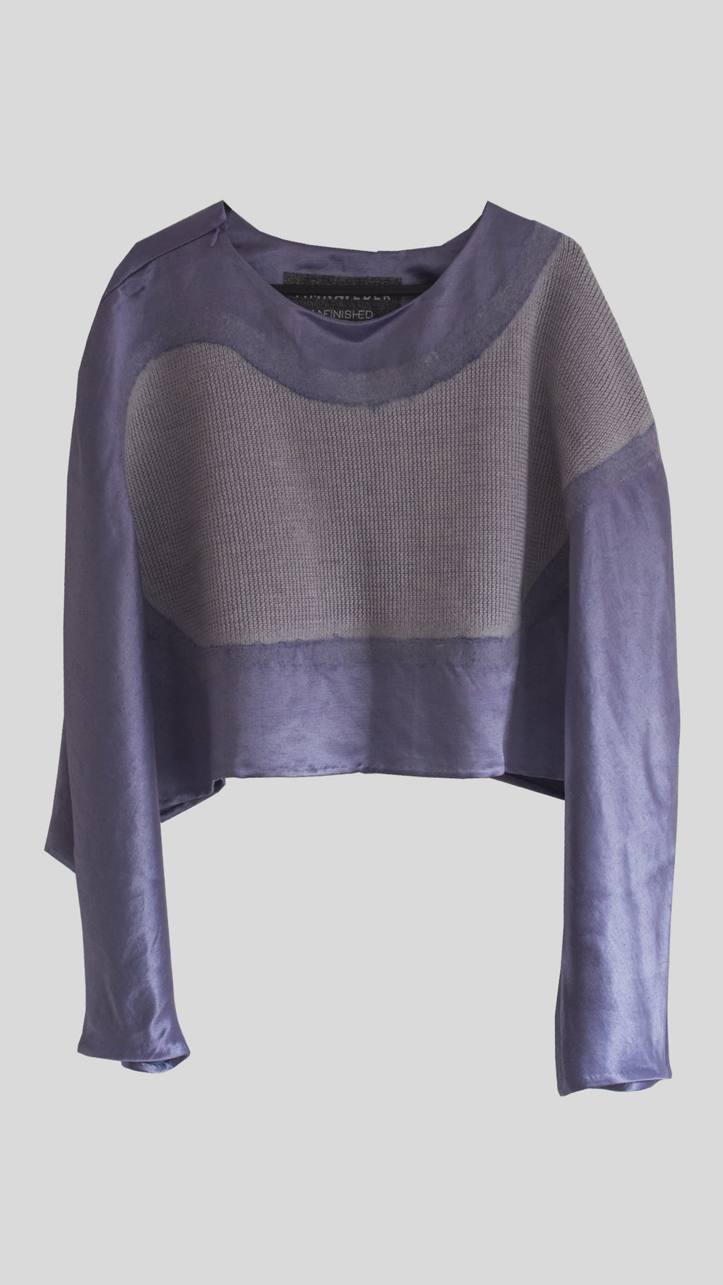 Lilac Abstract Shape Jumper