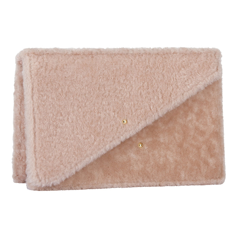 Martin Pink Shearling Bag