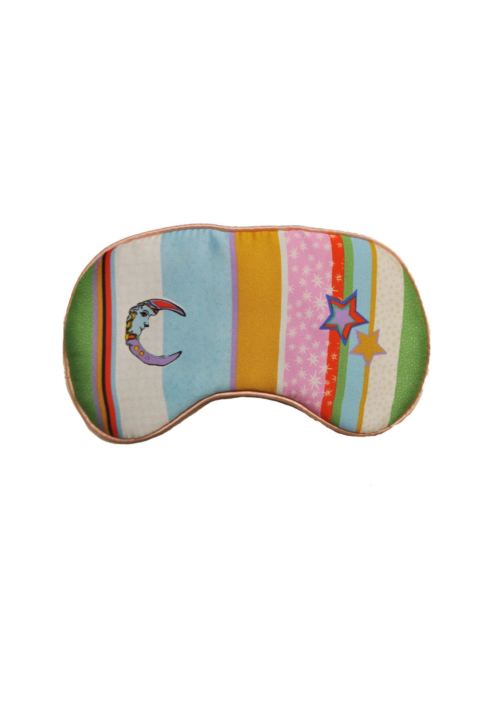 Silk Eye Mask 'Kansas Summer Stripe'