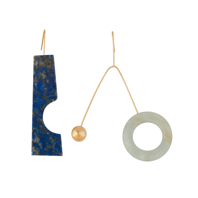 Sonia Blue Celadon Earrings