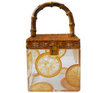 Bamboo Lemons Luxury Designer Bag