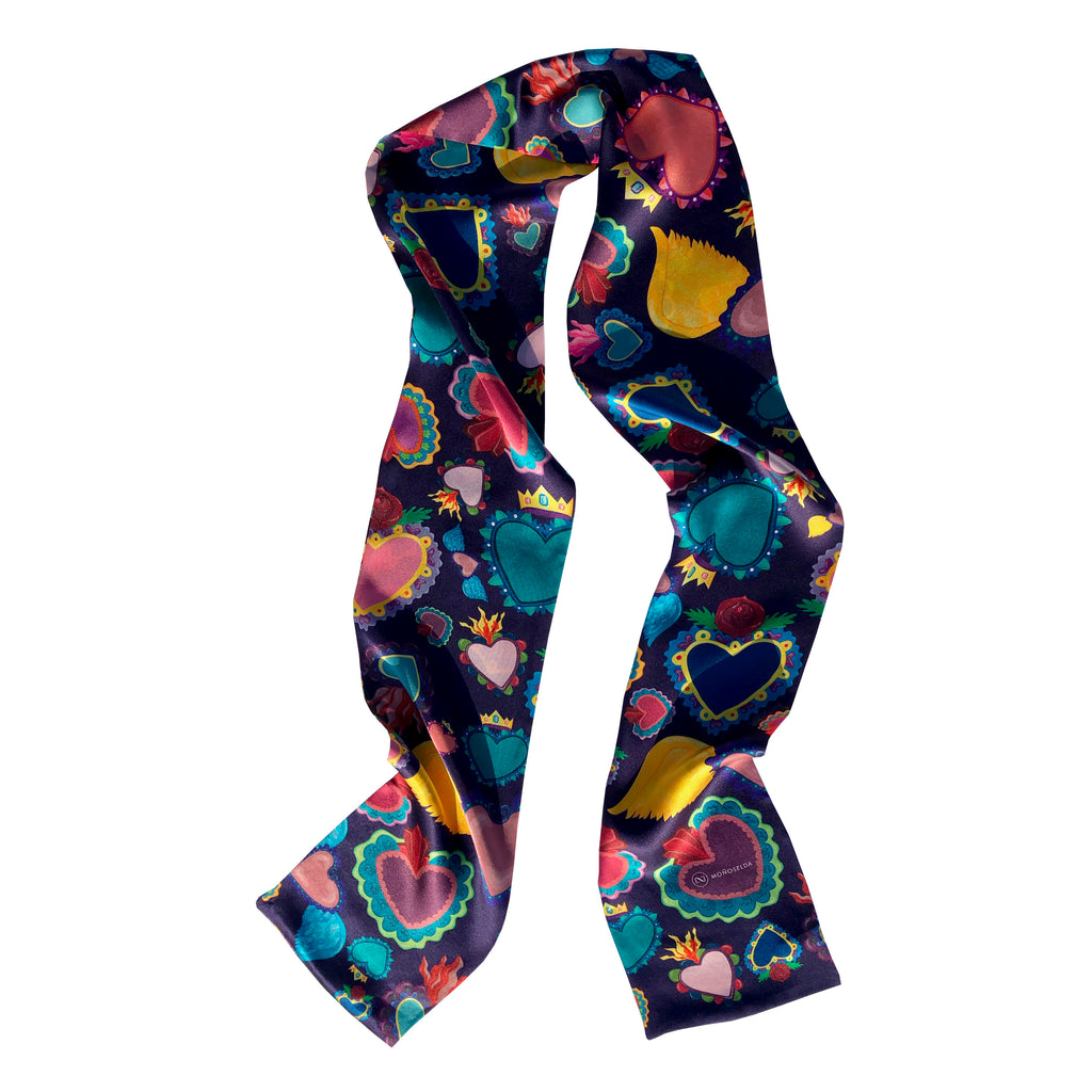 Corazon Silk scarf
