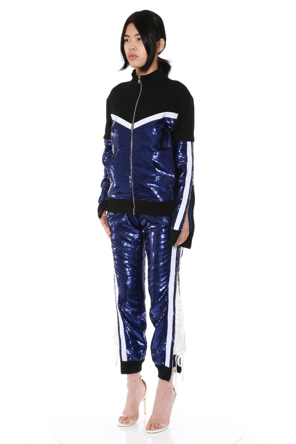 Slopestyle Sequin Track Pants